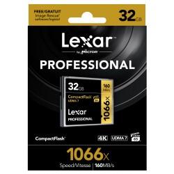 CF32GB 1066X Professionelle UDMA LEXAR