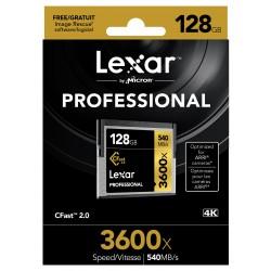 CFast 128GB 3600X Professional