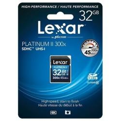 SDHC32GB 300X Class10 Platinum II LEXAR