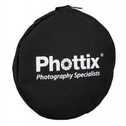 Phottix 5 en 1 Réflecteur Premium avec poignées 107 cm