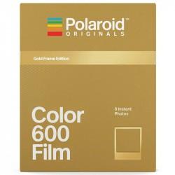 Film couleur cadre doré pour Polaroid 600