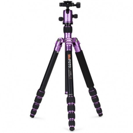 MeFOTO Roadtrip Tripod Alum Purple