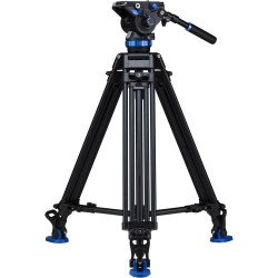 Benro Dual Stage Alum Video Tripod with S8 head