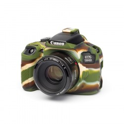 Coque silicone pour Canon 1300D camouflage