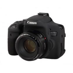 Coque silicone pour Canon 750D / T6i noir