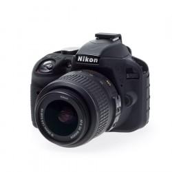 Coque silicone pour Nikon D3300 / D3400 noir