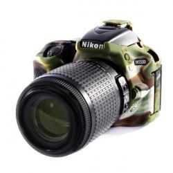 Coque silicone pour Nikon D5500 / D5600 camouflage