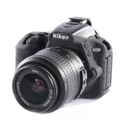 Coque silicone pour Nikon D5500 / D5600 noir