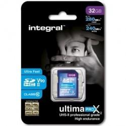 INTEGRAL - SDHC 32GB Class 10 U3 - 280/240MB/s - V90