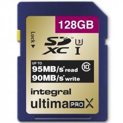 INTEGRAL - SDXC 128GB Class 10 U3 - 95/90MB/s - Gold V2