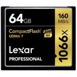 CF64GB 1066X Professional UDMA 7 LEXAR