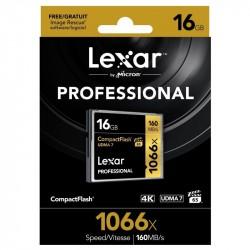 CF16GB 1066X Professional UDMA 7 LEXAR