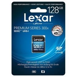 SDXC128GB 300X Class10 Platinum II LEXAR