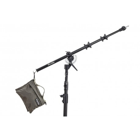 Phottix Light Stand Boom Arm (160cm, 63')and Sand Bag (M)