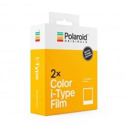 Pack 2 x 8 Color Film pour i-Type Polaroid ORIGINALS