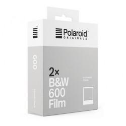 Pack 2 x 8 poses B&W cadre blanc pour appareils instantanés Polaroid 600
