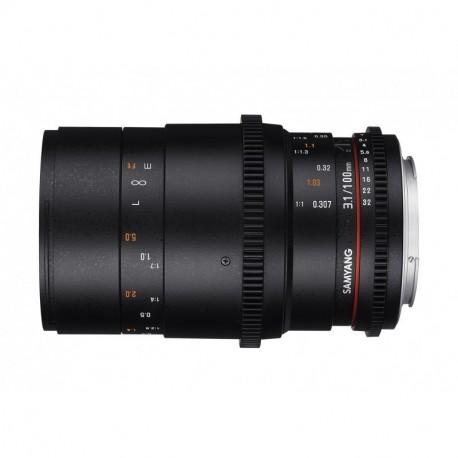 Samyang 100mm T3.1 Macro VDSLR Canon