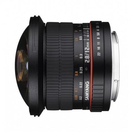 Samyang 12mm F2.8 Fisheye ED AS NCS Pentax KA
