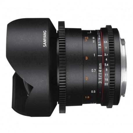 Samyang 14mm T3.1 VDSLR II Canon