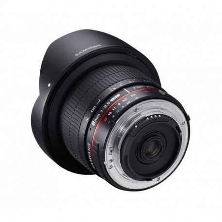 Samyang 8mm F3.5 Pentax CS II