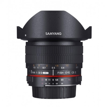 Samyang 8mm F3.5 Fish-eye CS II Sony A