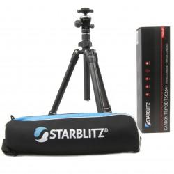 Starblitz TSC264+ Trépied carbone de voyage avec colonne extensible