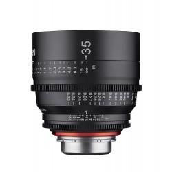 Xeen 35mm T1.5 Nikon F / echelle en METRE (m)