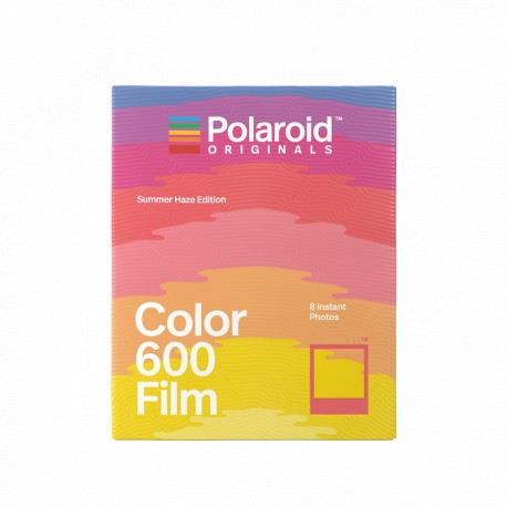 8 poses film couleur pour appareils 600 coll. Summer Haze