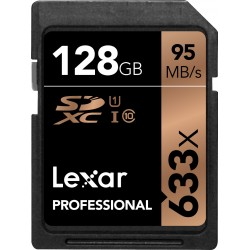 SDXC128GB 633X Professional UHS-1 (Class 10) U1