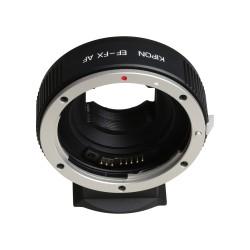 Bague AF optique Canon EF sur boitier Fujifilm GFX