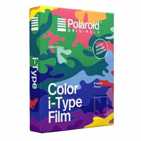 8 poses couleur pour appareils i-type cadre camouflage couleur