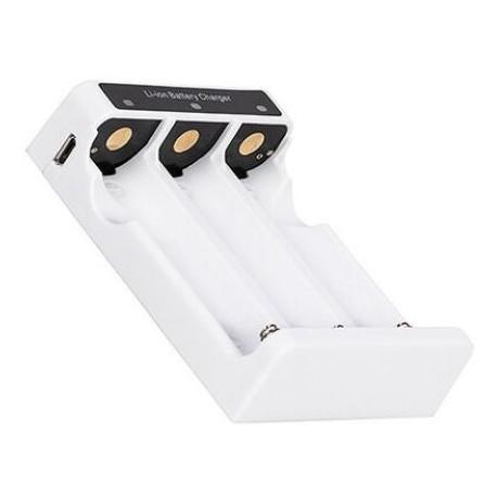 Chargeur pour 3 batteries Lithium 18650