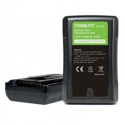 SB-VL95 Batterie Monture V avec sortie USB et D-TAP 95Wh