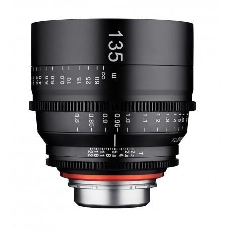 Xeen 135mm T2.2 Canon EF / echelle en METRE (m)