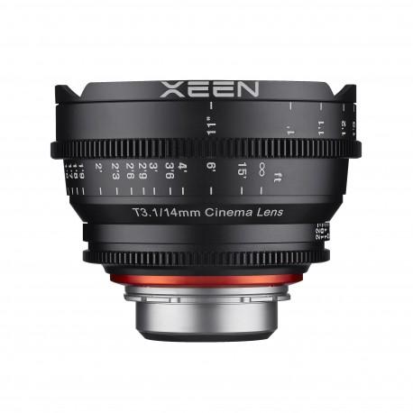 Xeen 14mm T3.1 Sony E / echelle en PIED (ft)