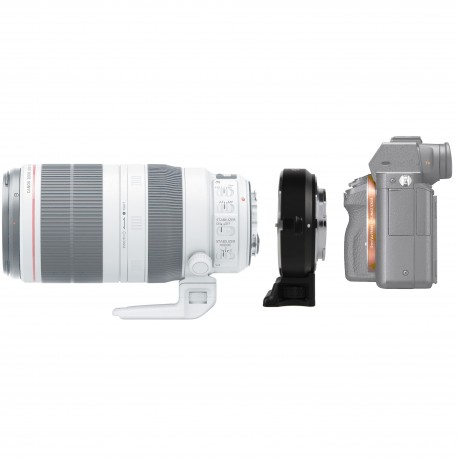 Reducteur de focale optique Canon vers Sony E (APS-C)