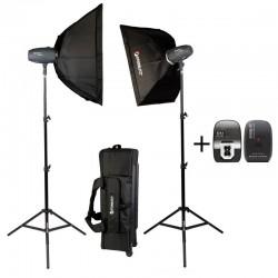 Starblitz SHARK400KIT Kit studio 2x 400 watts sec