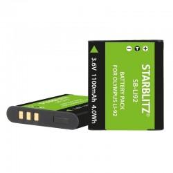 Batterie Starblitz compatible Olympus LI-92