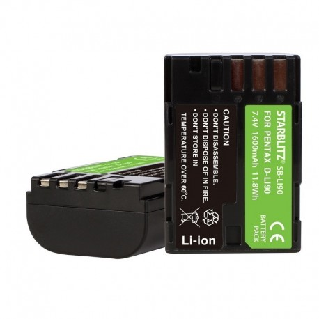 Batterie compatible Pentax Li-90