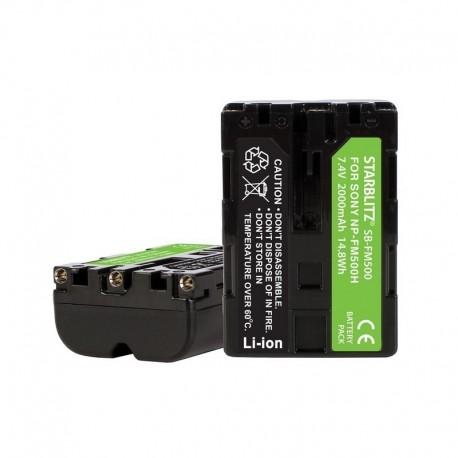Batterie compatible Sony NP FM500