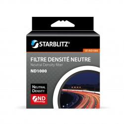 Filtre ND1000 82 mm Densité Neutre Starblitz Monture fine