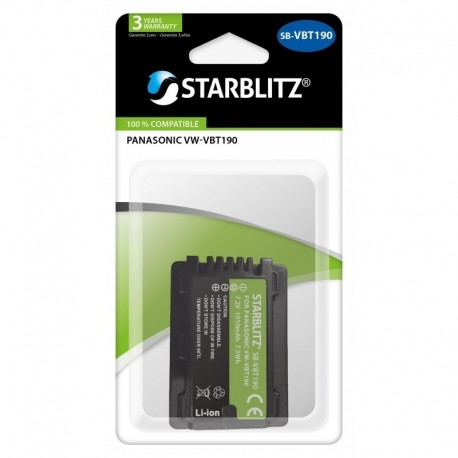 Batterie compatible Panasonic DMW-VBT190