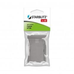 Plaque de charge pour batterie Starblitz SB-E6+ / Canon LP-E6/E6N