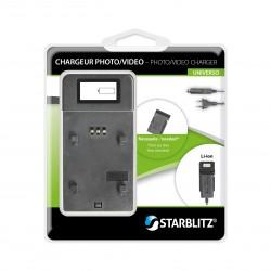 Chargeur avec écran de contrôle LCD - Plaques vendues séparément