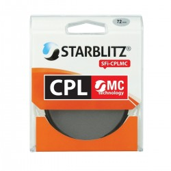 Filtre objectif 72mm Polarisant Circulaire HMC Starblitz