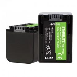 Batterie Starblitz compatible Sony NP-FV70