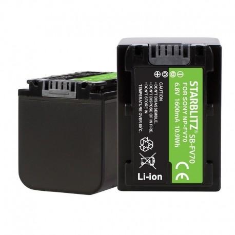 Batterie compatible Sony SNP-FV70