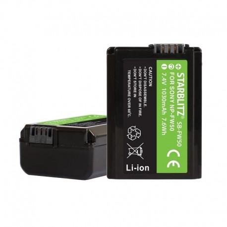 Batterie compatible Sony SNP-FV 50