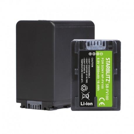 Batterie compatible Sony SNP FV100