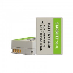 Batterie Starblitz compatible Canon NB-7L
